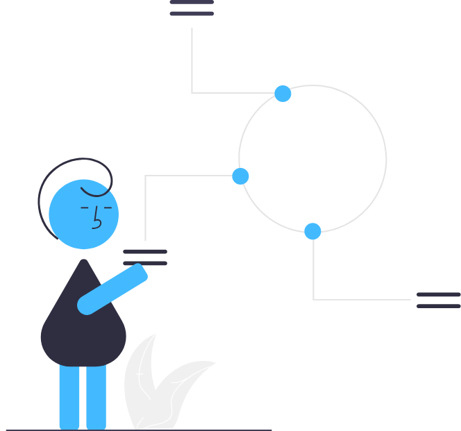 Illustration of a virtual chief alignment officer